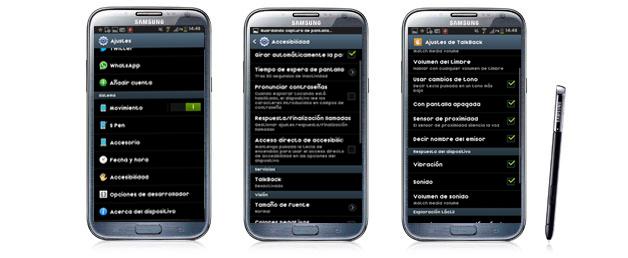 Talkback, accesibilidad en el smartphone