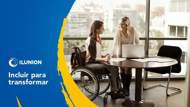 ILUNION, nueva marca que aglutina las empresas de la ONCE y su fundación, inserción laboral de personas discapacitadas