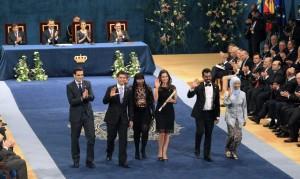 Premiados Príncipe de Asturias 2014