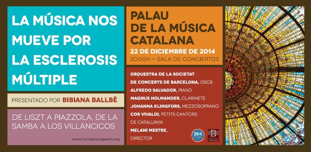 Quinto concierto benéfico, 'La Música nos Mueve', en favor de la esclerosis