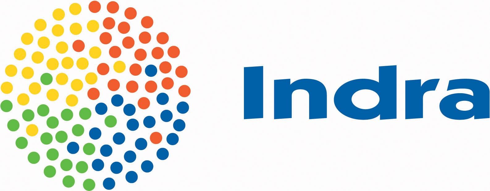 Logo de la empresa Indra