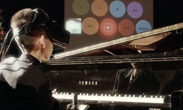 Demostración del Eye Play The Piano