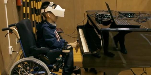 Invento Eye Play The Piano