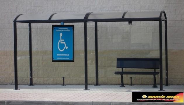 Paradas accesibles