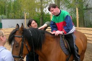 Hipoterapia, terapia con caballos para personas discapacitadas
