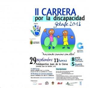 Carrera Solidaria por la discapacidad en Getafe