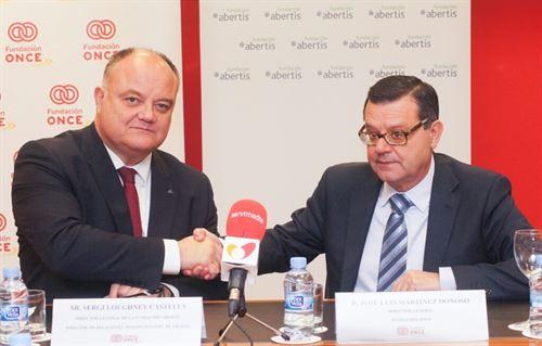 Acuerdo entre Fundación ONCE y Abertis