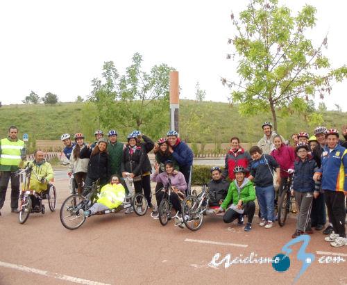 Jornada de ciclismo adaptado