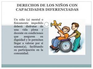 Garantía de derechos de los niños con discapacidad