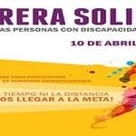 I carrera solidaria por la discapacidad en soria