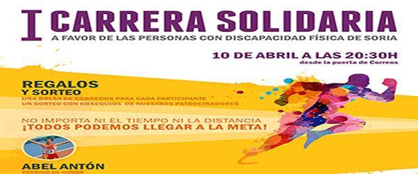 Primera carrera solidaria con la discapacidad en Soria