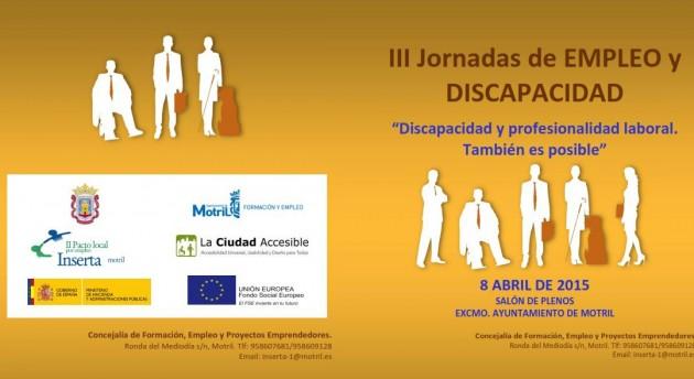 Jornadas de inserción laboral para discapacitados en Granada