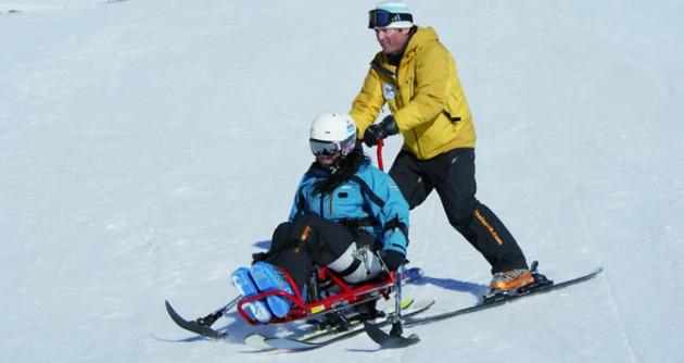 Cursos de esquí adaptados