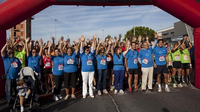 Carrera solidaria en Collaldo de Villalva