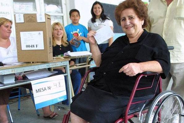 Colegios electorales accesibles