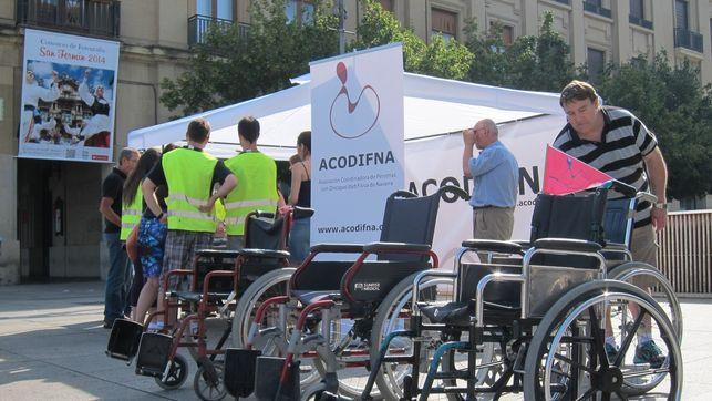 Evento silla de ruedas, ACODIFNA