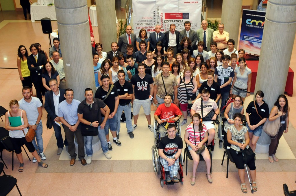 Campus inclusivo de la Universidad de Murcia