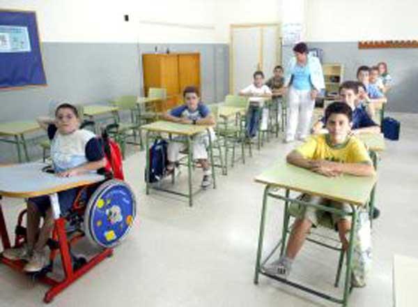 Alumnos con discapacidad