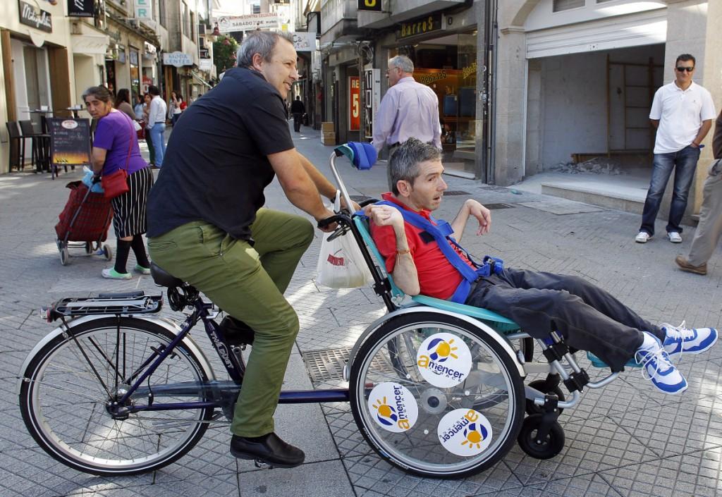 Día internacional de la persona discapacitada en Pontevedra