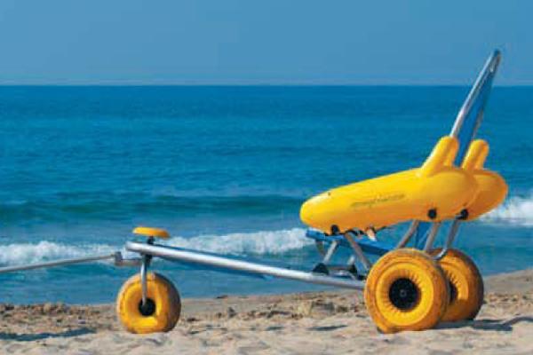 Ayudas técnicas en las playas