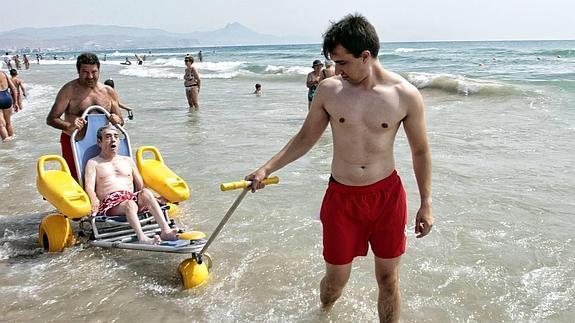 Playa accesible para todos