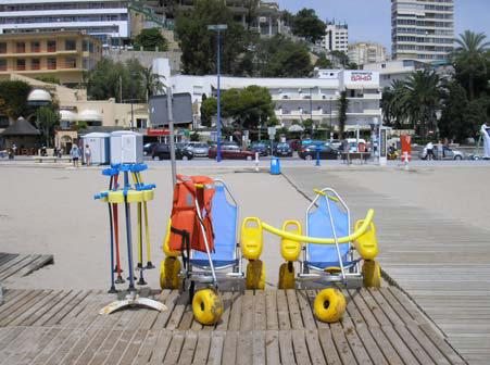 Accesibilidad en las playas