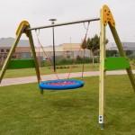 Columpios para niños con discapacidad
