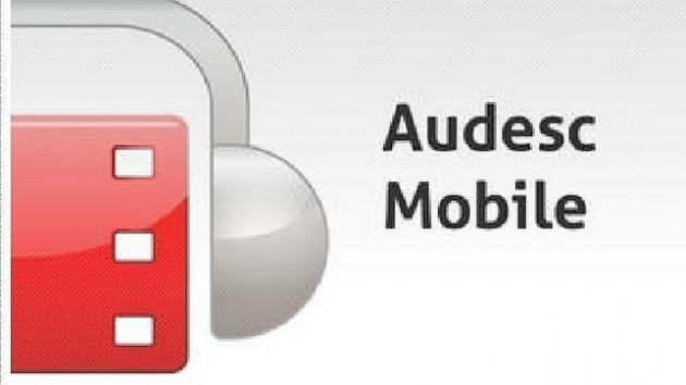 Cine accesible con la app AudescMobile de La ONCE