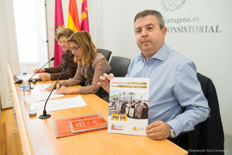 Actividades para mayores y discapacitados en Cartagenea