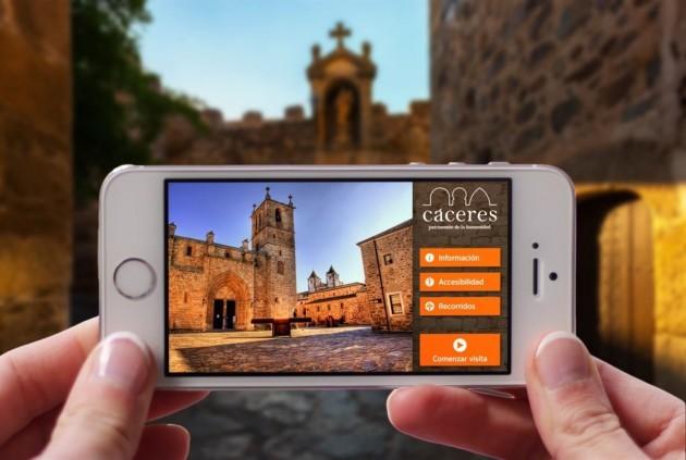 Cáceres lanza su propia app de Turismo Accesible