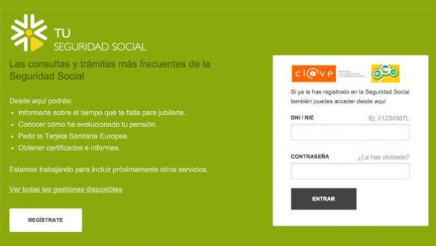 Simulador de pensiones de la Seguridad Social