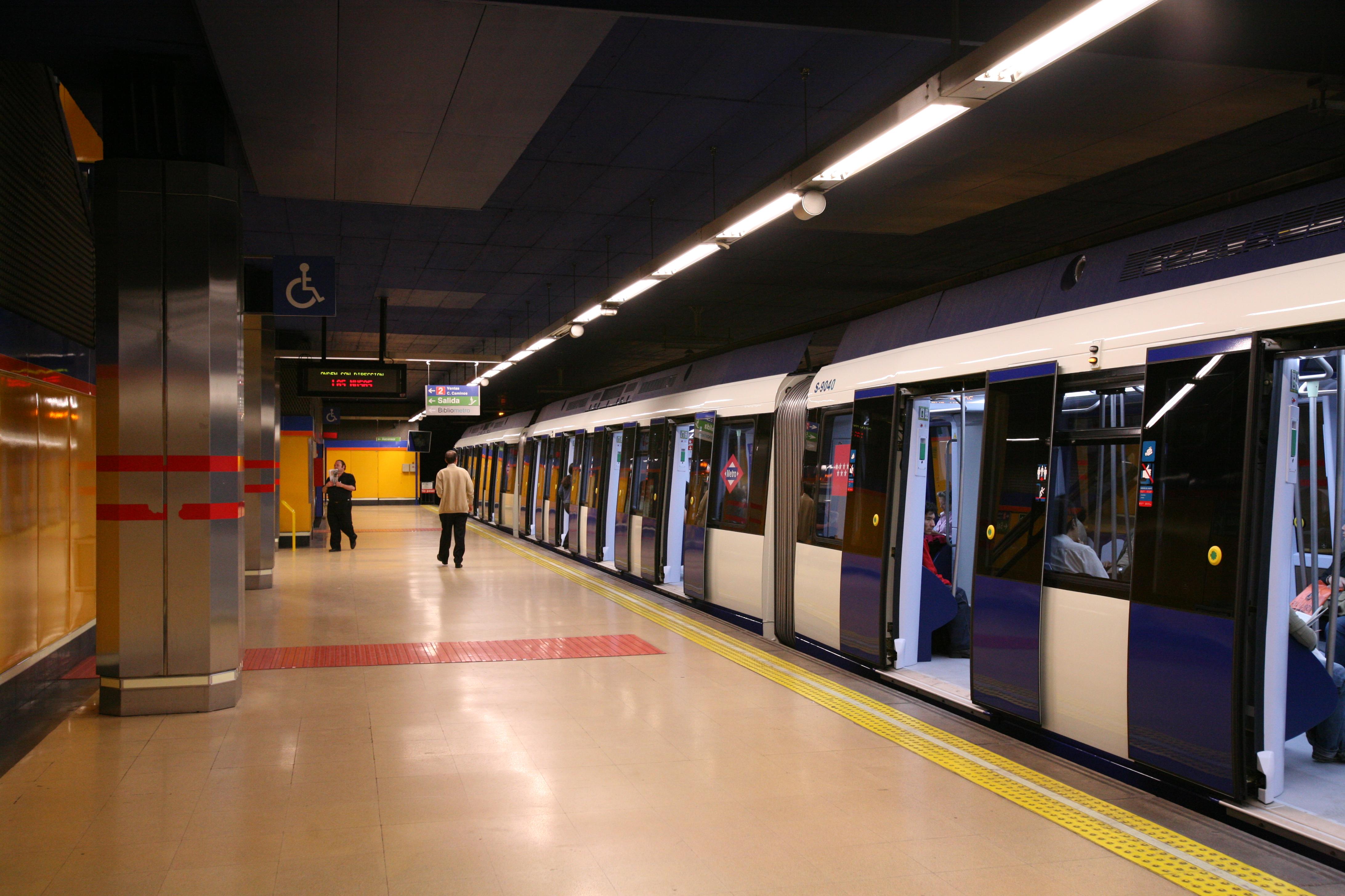 Metro, autobús, Madrid, accesible