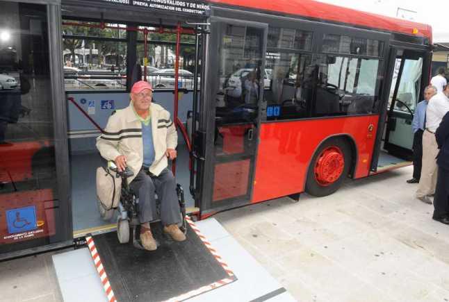 Accesibilidad en los autobuses