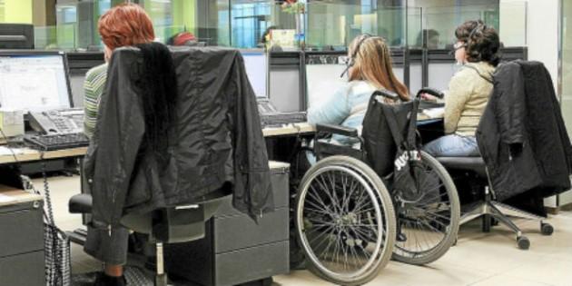 Un estudio afirma la eficiencia de las personas con discapacidad