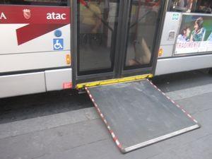 autobuses roma rampa